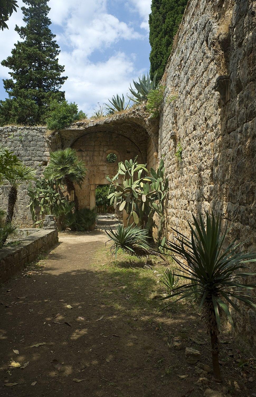 Lokrum island, Benedictine monastery