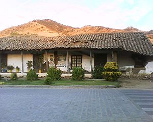 Lolol - Several houses in the historical center of Lolol were damaged following the 2010 earthquake.