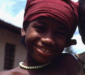 Loma people - Image: Loma Girl
