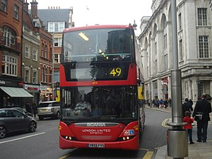 London United SP111 on Route 49, Kensington.jpg