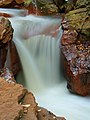 Long exposure of Douglas Falls, West Virginia (5516689730).jpg