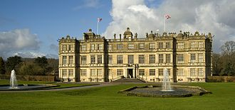 Longleat - The façade of Longleat House