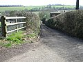 Looking E down Shelvin Farm Road - geograph.org.uk - 366111.jpg