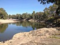 Looking down stream at 'The Rocks' on the Murrumbidgee River in Wagga Wagga.jpeg