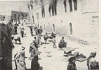 Looting the Jewish Quarter