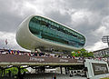 Lords Cricket Ground - June 2011 - The Iconic Media Centre (5858018929).jpg
