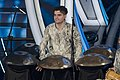 Loris Lombardo with the handpans at the Festival di Sanremo.jpg