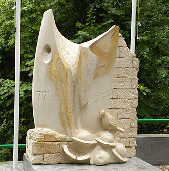 George G. McMurtry - Monument to the Lost Battalion in the Argonne Forest, France.
