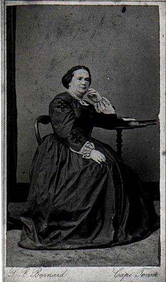 Louise Juta - Louise Juta neé Marx, 1863