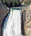 Lower Falls, Grand Canyon of Yellowstone 8-11 (15474155527).jpg