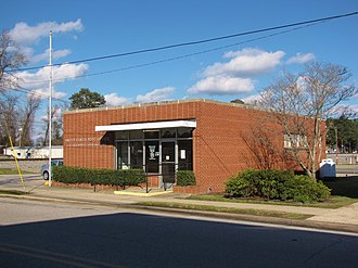 Lucama, North Carolina - Image: Lucama Post Office
