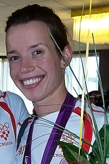 Lucija Zaninović Croatian taekwondo practitioner