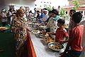 Lunch Distribution - Rawatpura Sarkar Ashram - Chitrakoot - Satna 2014-07-05 6434.JPG
