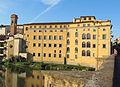 Lungarno guicciardini, palazzo della missione(mattina) 02.jpg