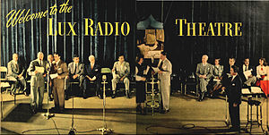 Lux Radio Theatre - Performing before a studio audience in 1948