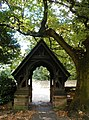 Lych gate, St Michaels, Thornhill - geograph.org.uk - 975913.jpg