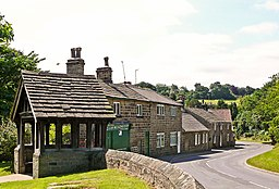 Lychgate and Cottages, Bardsey (3720199481).jpg