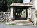 Lychgate of St Michael the Archangel, Kirkby Malham - geograph.org.uk - 969796.jpg