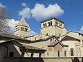 Lyon 2e - Basilique Saint-Martin d'Ainay depuis la rue Bourgelat (mars 2019).jpg