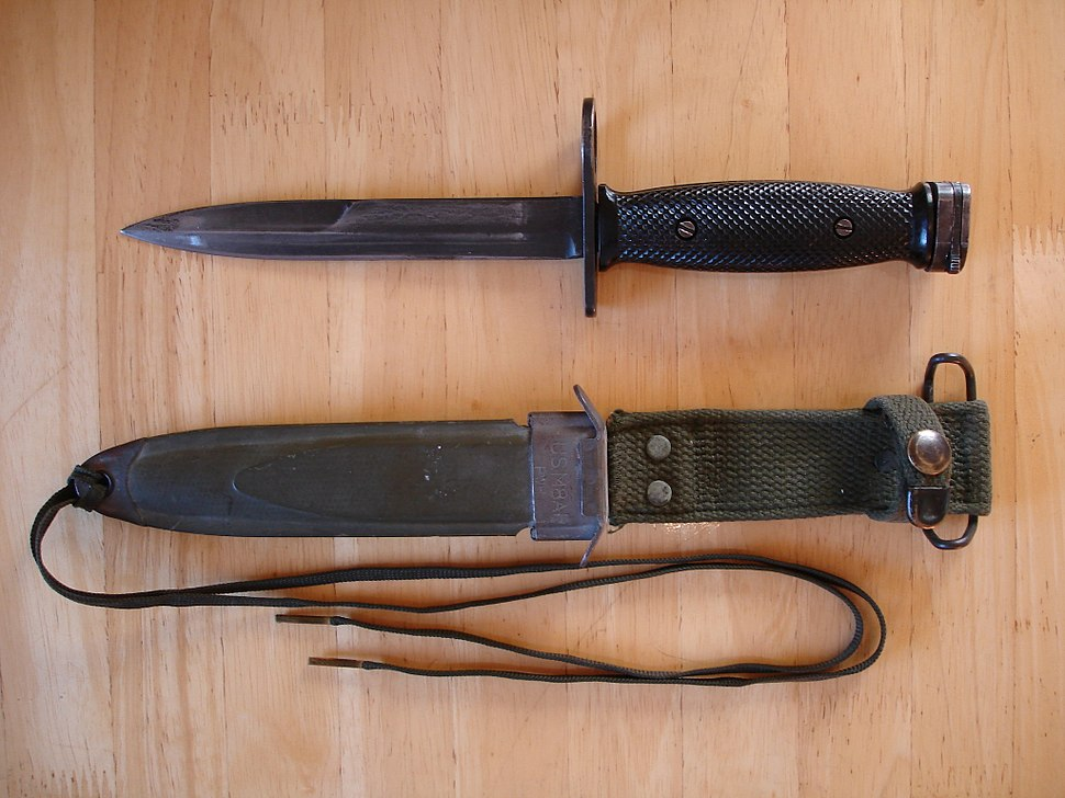 M7 Bayonet %26 M8A1 Sheath