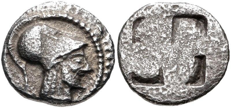 MACEDON, Aineia. Circa 510-480 BC
