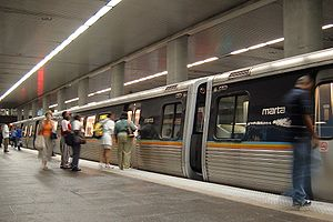 North Avenue station (MARTA) - Image: MARTA N3 Station