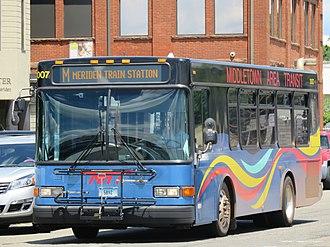 Middletown Area Transit - Image: MAT 3007