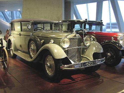 Mercedes-Benz 770 vm. 1931, individu de l'empereur Guillaume II