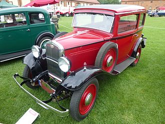 Licensed production - 1933 Fiat 508 manufactured under license in Poland by Polski Fiat.