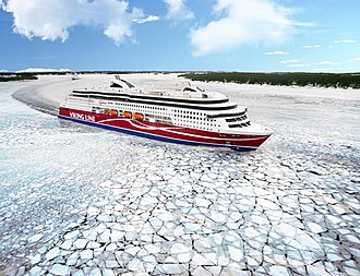 MS Viking Grace - Image: MS Viking Grace 2013 01 28 001