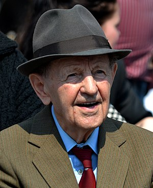 Miloš Jakeš - Miloš Jakeš in Prague on May 1, 2014