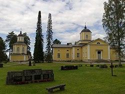 Maaninka Lutheran Church in Maaninka, Finland.jpg