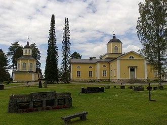 Maaninka - Image: Maaninka Lutheran Church in Maaninka, Finland
