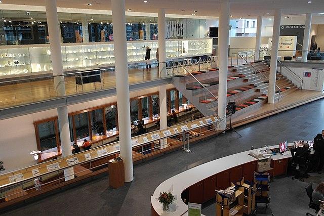 File Maastricht Centre C 233 Ramique Zicht Op Entreehal