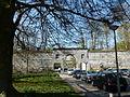 Maastricht - Ommuring van de Nieuwstad met poort - Begijnenstraat - Sint Pieterskade (1-2015) - P1150045.JPG
