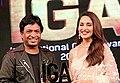 Madhuri Dixit and Sunil Pal, IGA 2019.jpg