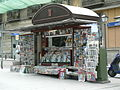 Madrid roadside newstand.JPG
