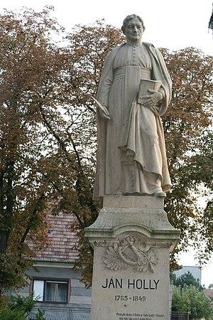 Madunice - Statue of Ján Hollý