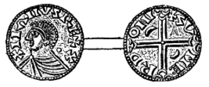 Magnus the Good - Coin minted for Magnus the Good in Lund (at the time a town in Danish Scania).