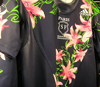 Stade Français - Jersey worn in the 2006–07 season.