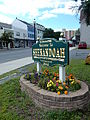 Main St Welcome Sign, Shenandoah PA 01.JPG