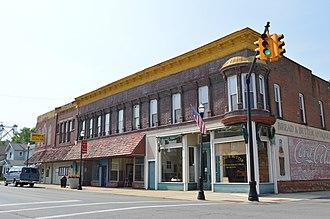 McComb, Ohio - Main Street downtown