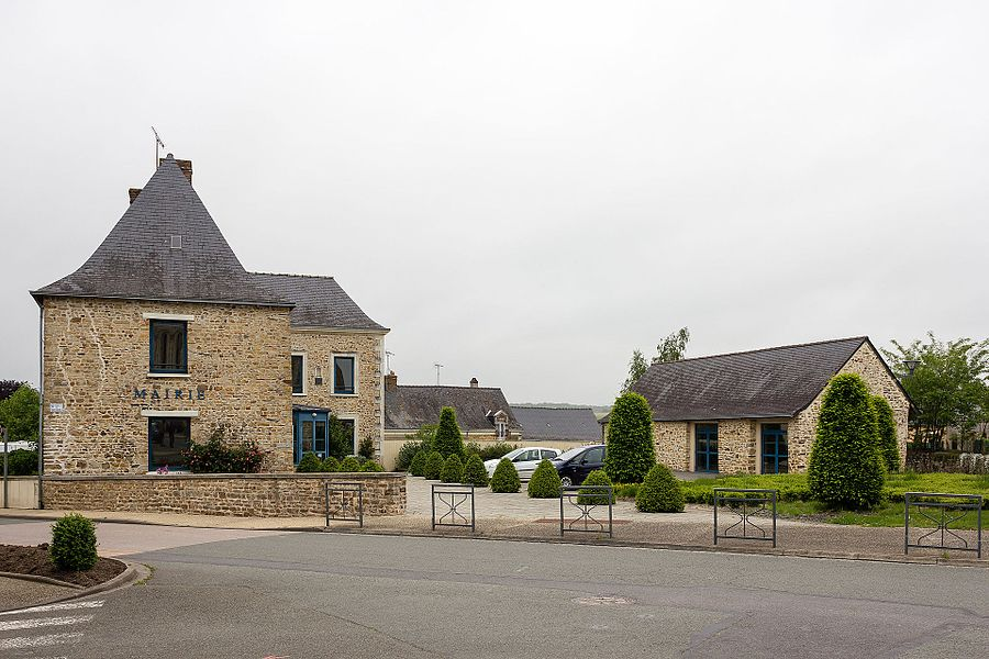 Français:  Mairie de Congrier (France).