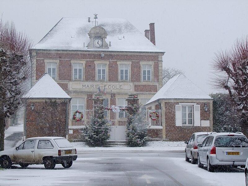 Ancienne école et mairie de Lagny