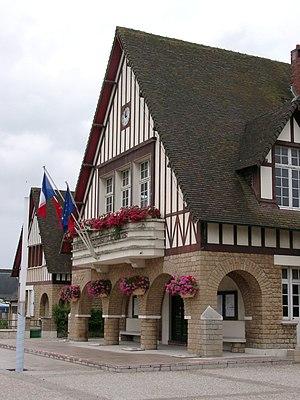 Merville-Franceville-Plage - Image: Mairie de Merville Franceville