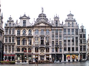 Grand Place - Guildhalls on the Grand Place