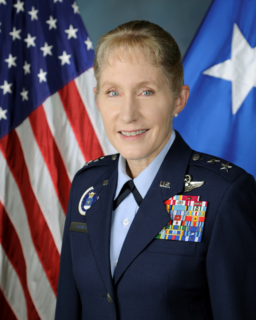 Jeannie Leavitt US Air Force general and first female fighter pilot in USAF