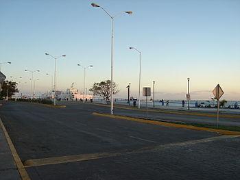 Malecon de Ciudad del Carmen