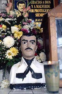 Jesús Malverde Mexican folk hero