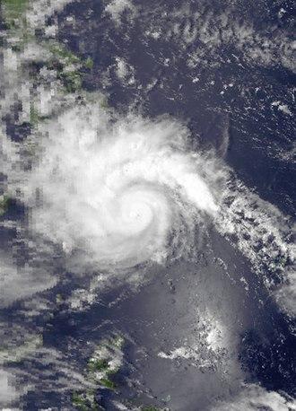 1982 Pacific typhoon season - Image: Mamie mar 19 1982 0533Z